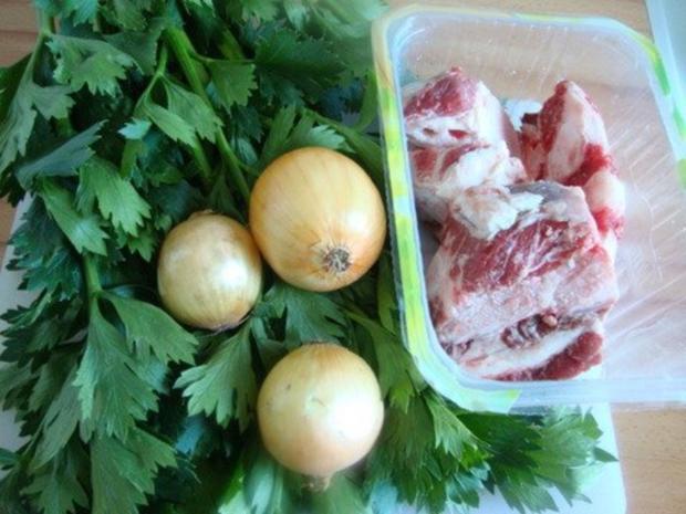 "Gemüsesuppe ""Querbeet"" mit kräftiger Grundlage - Rezept - Bild Nr. 2"