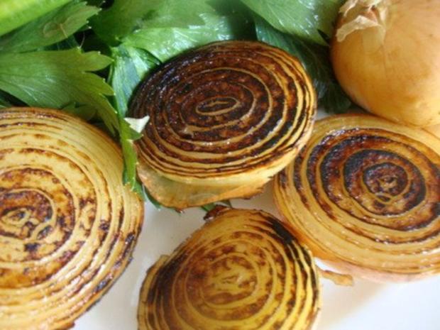 "Gemüsesuppe ""Querbeet"" mit kräftiger Grundlage - Rezept - Bild Nr. 4"