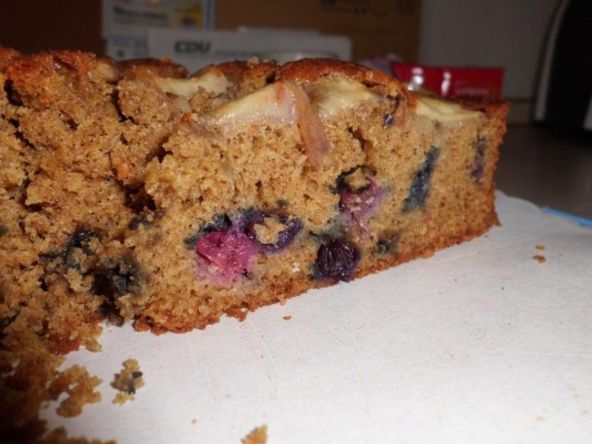 Kuchen: Vollkorn-Frucht-Rad