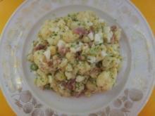 Marinierter Blumenkohl mit Eier-Häckerle - Rezept