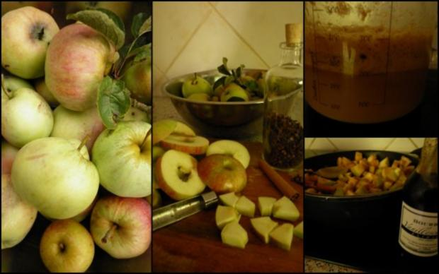 Hefeplinsen mit Apfelkompott - Rezept - Bild Nr. 3