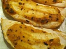 Selleriescheiben mit Senf-Kräuterkruste - Rezept
