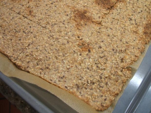 Brot/Brötchen: Knäckebrot mit viel Ballaststoffen - Rezept - Bild Nr. 4