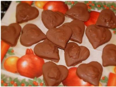 Weihnachtsplätzchen: Lebkuchen-Herzen - Rezept