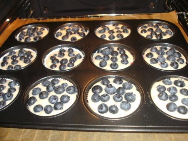 Heidelbeer - Muffins - Rezept - Bild Nr. 2