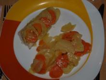 Kabeljau-Kartoffel-Möhren-Gratin - Rezept