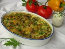 Bulgarisches Pilz-Gratin - Rezept