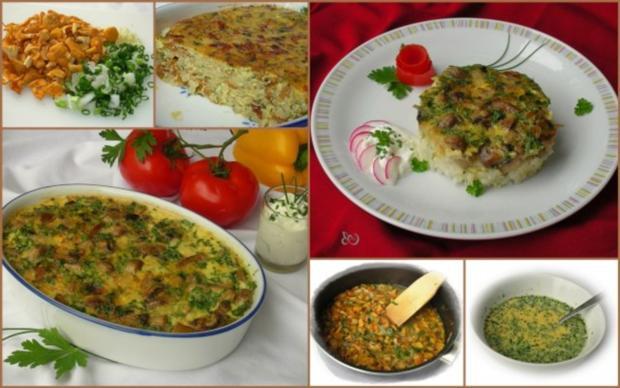 Bulgarisches Pilz-Gratin - Rezept - Bild Nr. 9