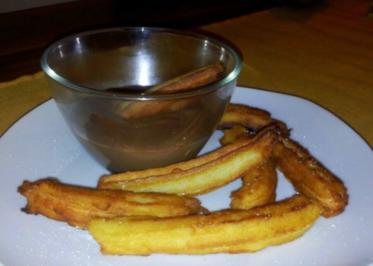 Churros con chocolate - Rezept