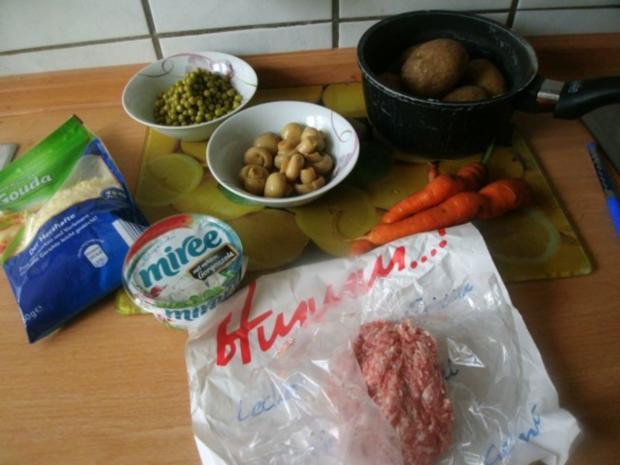 Gorgonzola - Kartoffelgratin - Rezept - Bild Nr. 2