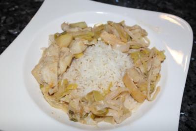 Asiatisches Fischcurry - Rezept