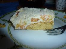 Torten: Nektarinen-Mango-Schmandtorte - Rezept