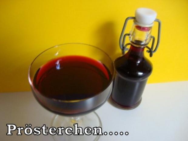 Holunderbeerenlikör - Rezept - Bild Nr. 11