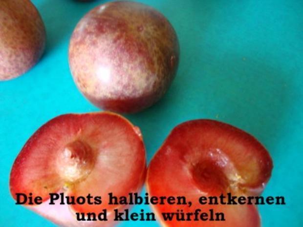 Pluots - Johannisbeer Marmelade - Rezept - Bild Nr. 2