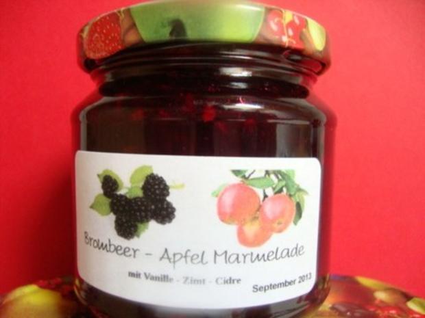 Brombeer - Apfelmarmelade - Rezept