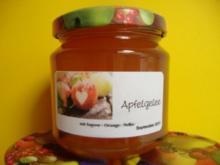 Apfelgelee mit Orange und Nelken - Rezept