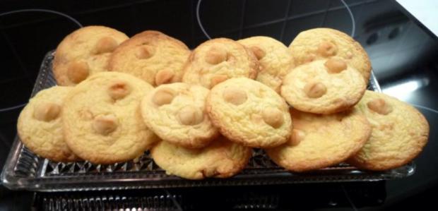Macadamia-Cookies - Rezept