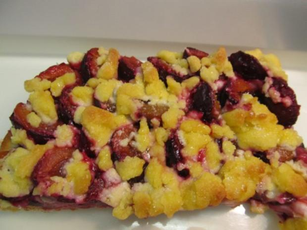 Zwetschgen Streuselkuchen Rezept Mit Bild Kochbar De