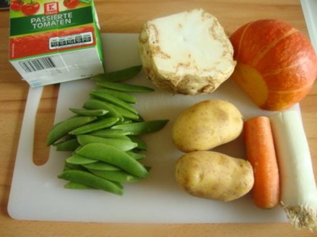 Tomatensuppe mit Gemüsevielfalt - Rezept - Bild Nr. 3