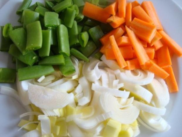 Tomatensuppe mit Gemüsevielfalt - Rezept - Bild Nr. 4