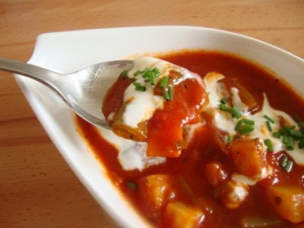 Tomatensuppe mit Gemüsevielfalt - Rezept - Bild Nr. 2