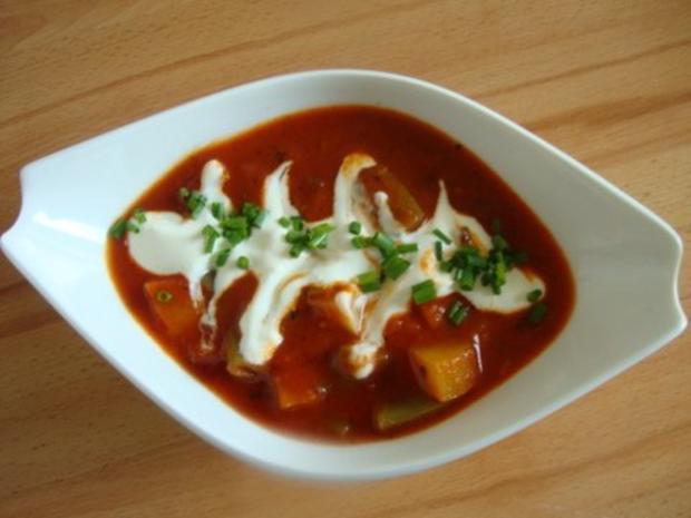 Tomatensuppe mit Gemüsevielfalt - Rezept - Bild Nr. 11