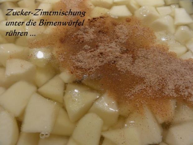 Einkochen:   WILLIAMS - BIRNEN - WÜRFEL - Rezept - Bild Nr. 5
