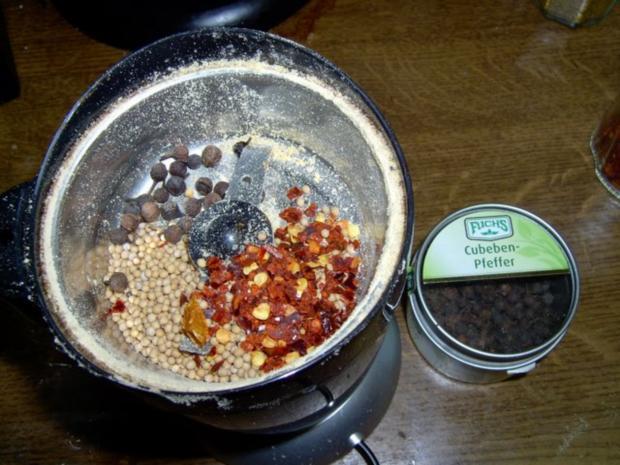 Süßer Senf mit Kubebenpfeffer und Chili - Rezept - Bild Nr. 2
