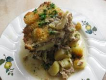 Wirsing-Hackfleisch-Kartoffel-Auflauf - Rezept