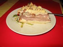 Marmorierter Käsekuchen mit Schokostreusel - Rezept