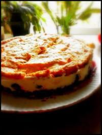 Kirsch-Schoko-Baiser-Torte - Rezept