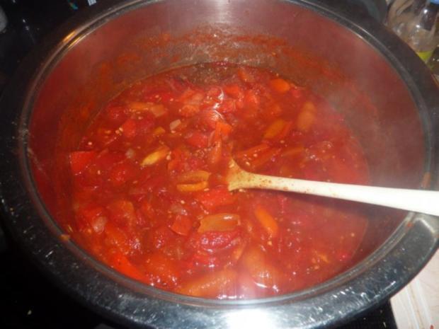 Vorrat: Tomaten-Paprika-Ketchup - Rezept - Bild Nr. 3