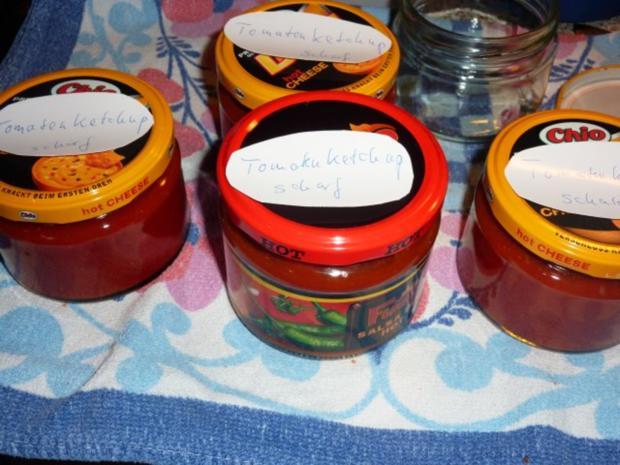 Vorrat: Tomaten-Paprika-Ketchup - Rezept - Bild Nr. 11