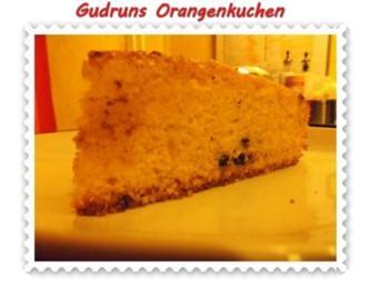Kuchen: Orangenkuchen - Rezept