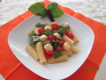 Tortiglioni -Tricolori - Rezept
