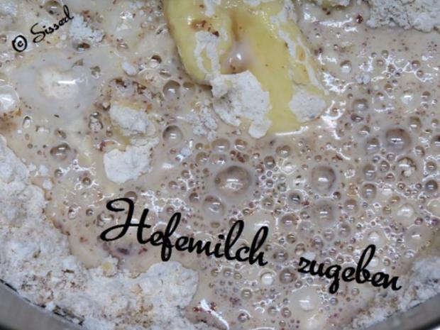 Sisserls  * Nuss - Hefeteig * - - - ( ohne Ei ) - Rezept - Bild Nr. 3
