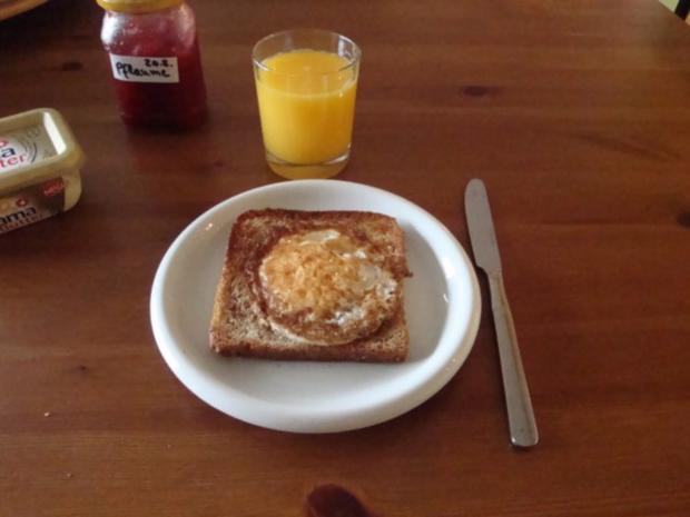 Ei im Nest oder einfach Eiertoast - Rezept