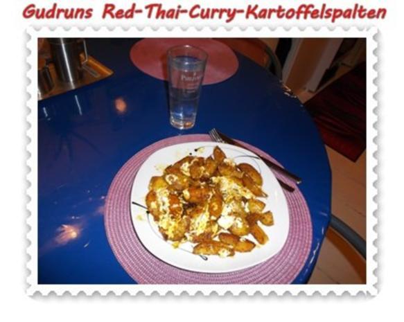Kartoffeln: Red-Thai-Curry-Kartoffelspalten mit Ziegenkäse - Rezept ...