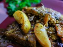 Tofu mit Apfel-Feigen Sauce - Rezept
