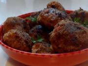 Herzhafte Kräuter-Paprika-Frikadellen - Rezept