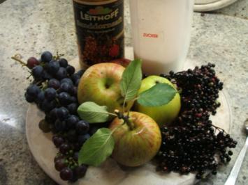 Vorrat: Vier-Frucht-Sirup - Rezept