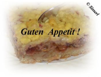 Sisserl's – Zwetschgenkuchen - Rezept