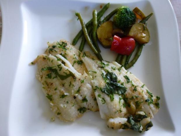 Ein schnelles Mittagessen mit Fisch zum Freitag - Rezept