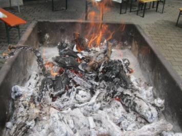 Zwiebelfleisch-Spiessbraten - Rezept
