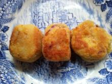 japanische Kroketten (Korokke) bzw. vegetarische Frikadellen - Rezept