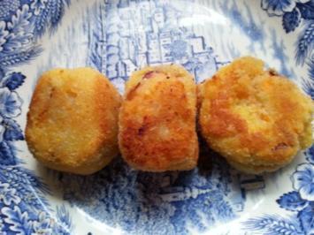 Rezept: japanische Kroketten (Korokke) bzw. vegetarische Frikadellen