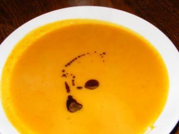 Suppe: Kürbissuppe mit einem Hauch Asien - Rezept