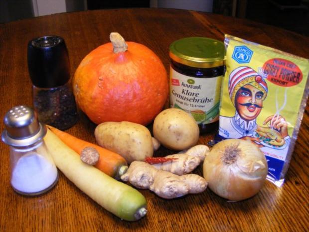 Suppe: Kürbissuppe mit einem Hauch Asien - Rezept - Bild Nr. 2