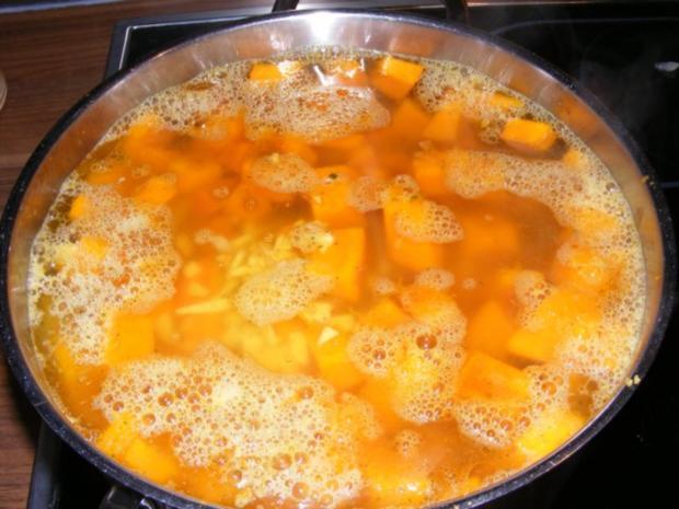 Suppe: Kürbissuppe mit einem Hauch Asien - Rezept - Bild Nr. 5
