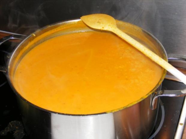 Suppe: Kürbissuppe mit einem Hauch Asien - Rezept - Bild Nr. 7